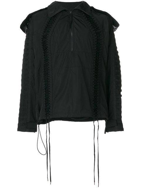 Ktz Lace Up Jacket - Black