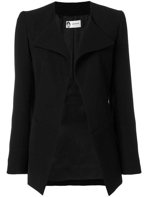Lanvin Tailored Cady Jacket