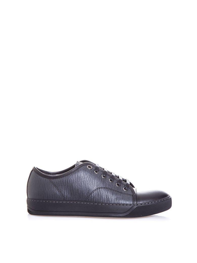Lanvin Low Sneakers In Black