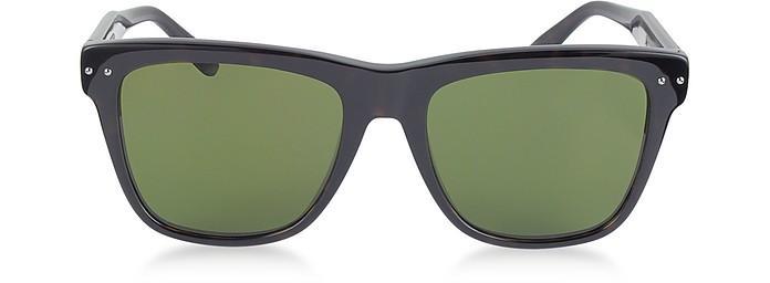 Bottega Veneta Bv0098s 005 Light Havana Acetate Frame Unisex Sunglasses