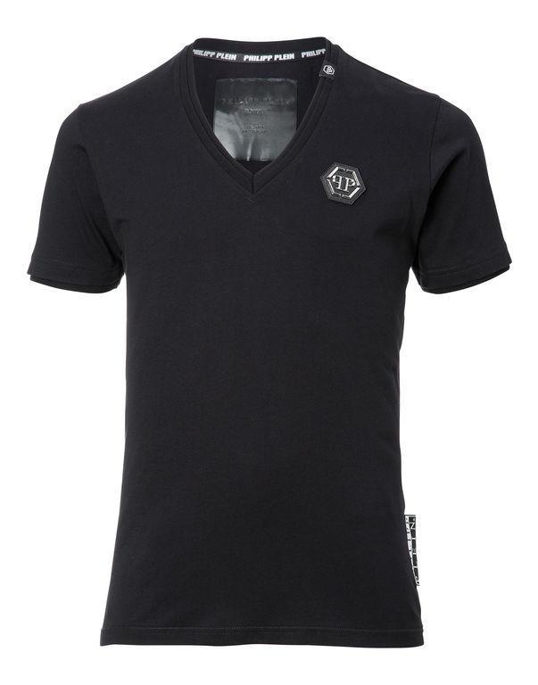 """Philipp Plein T-shirt V-neck Ss """"willys"""""""