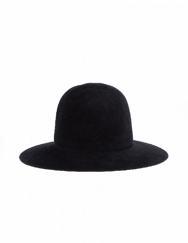 Yohji Yamamoto Crown Hat In Black