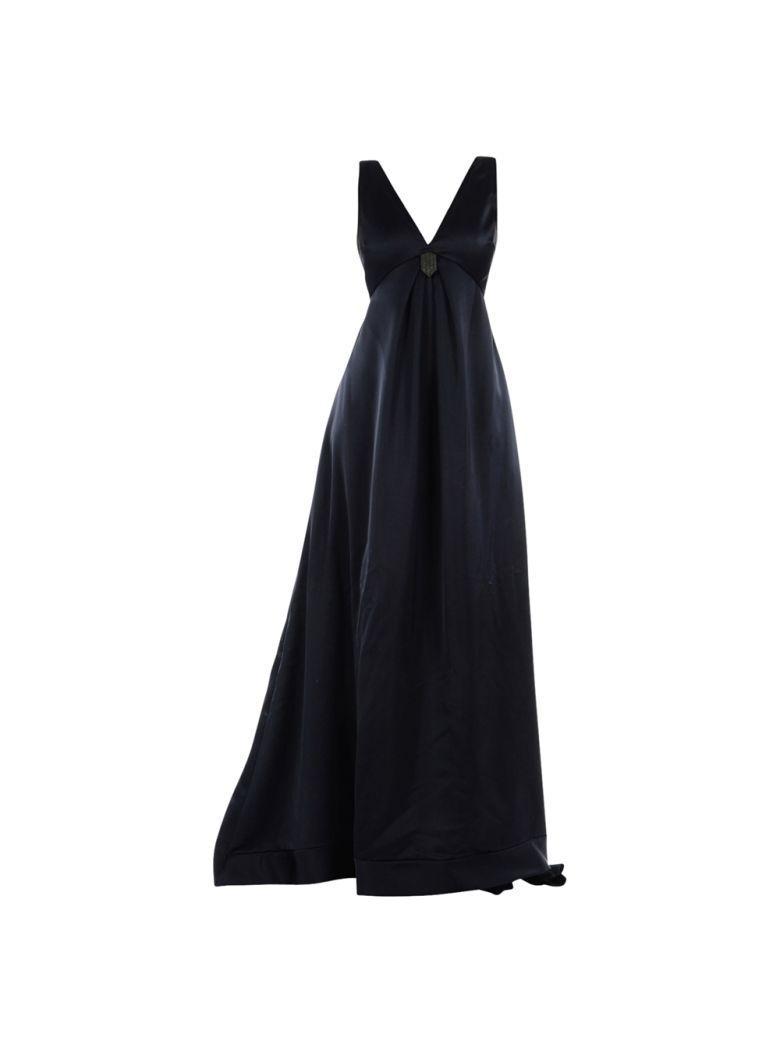 Brunello Cucinelli Long Dress In Blu