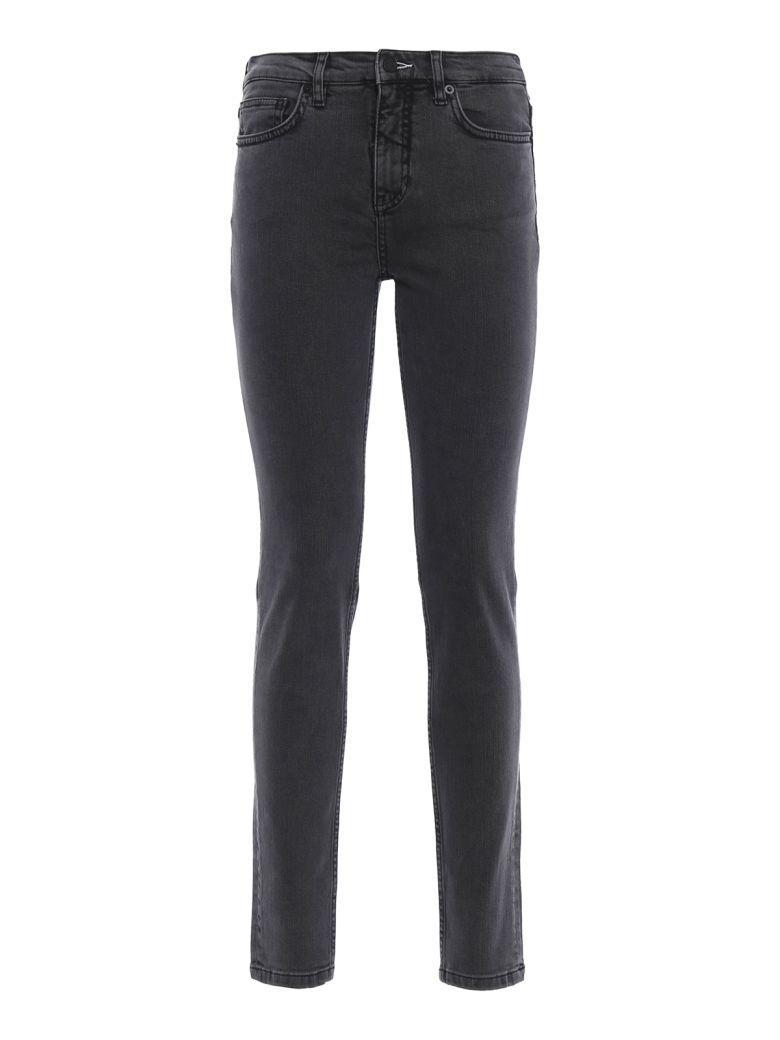 Mcq By Alexander Mcqueen Denim Slim Fit Jeans In Grey