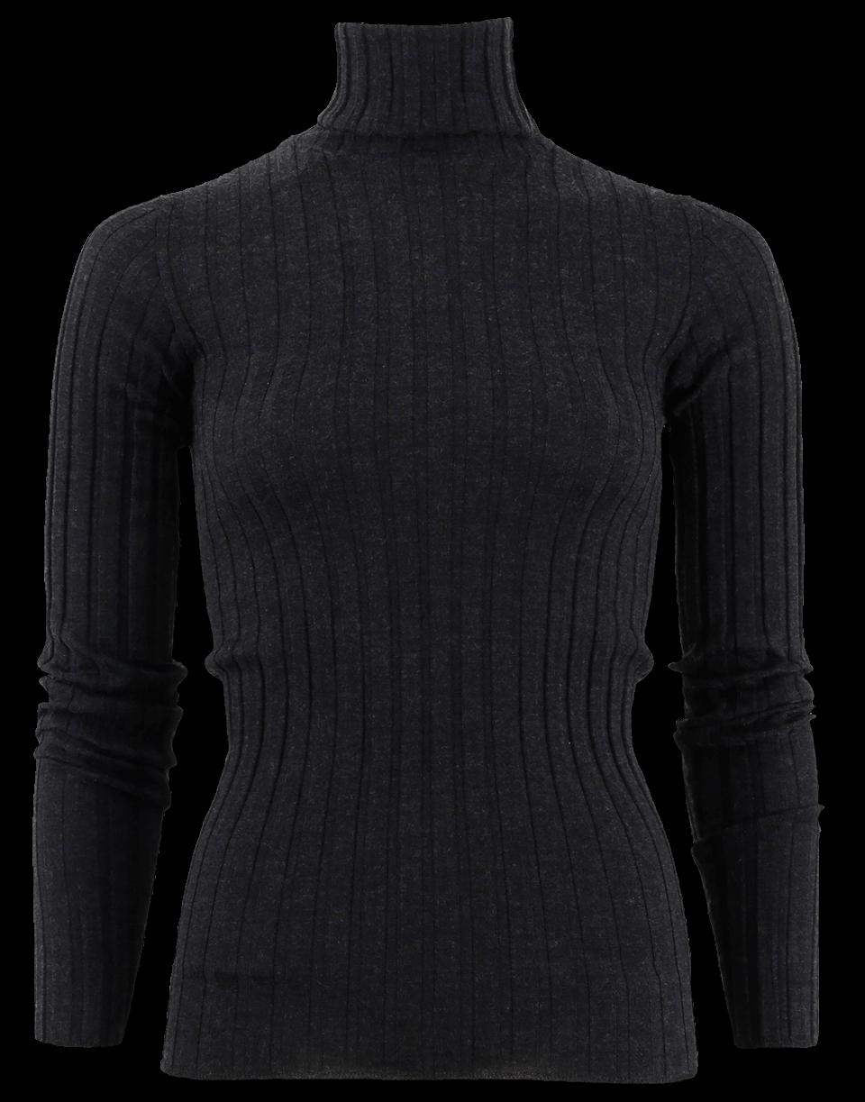 Brunello Cucinelli Fitted Pullover In Anthraci