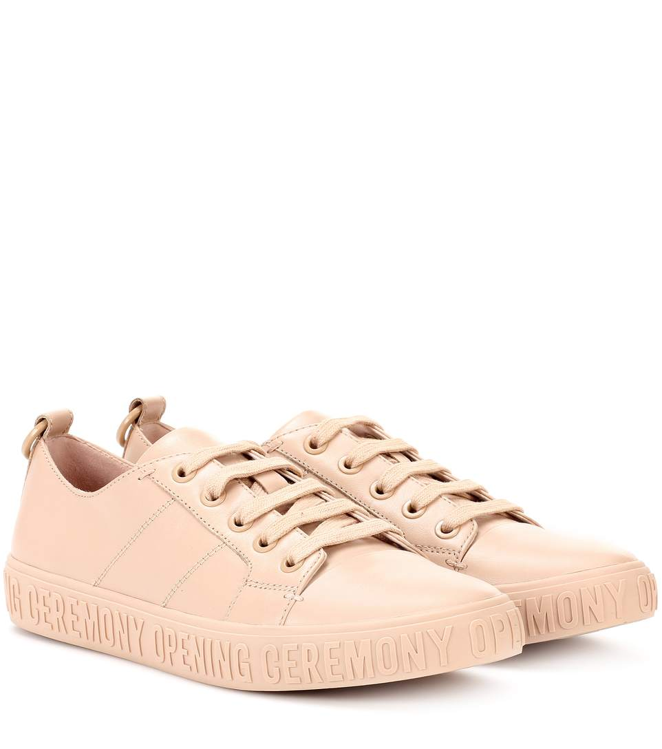 Opening Ceremony Mina Leather Sneakers In Eude