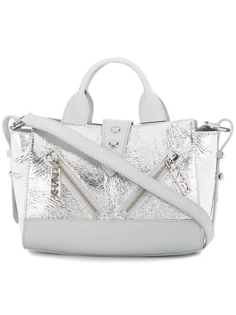 9763734fe0f Kenzo Silver Mini Kalifornia Bag In Metallic | ModeSens