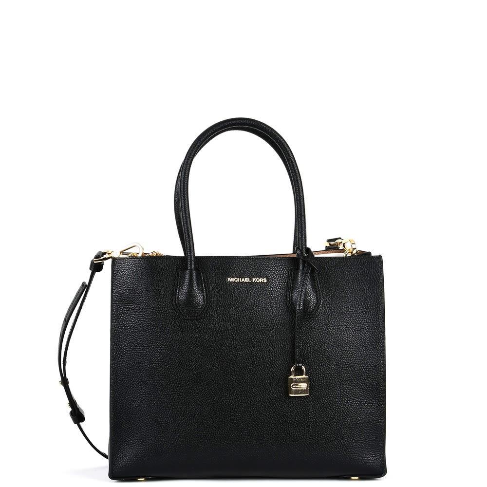 Michael Kors Large Mercer Leather Tote Bag