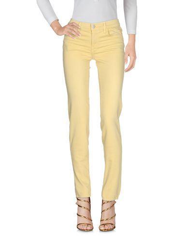 J Brand Denim Pants In Light Yellow