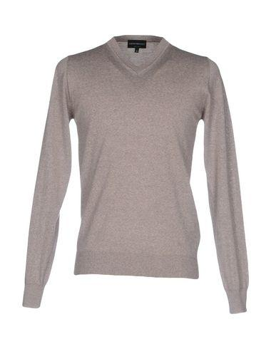 Emporio Armani Sweaters In Dove Grey