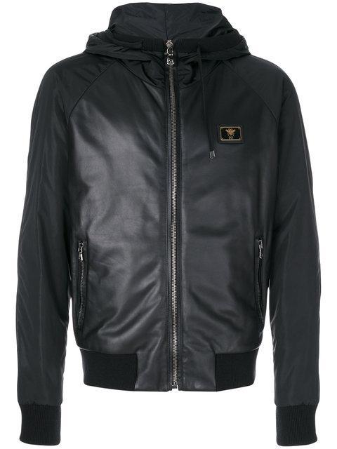 Dolce & Gabbana Hooded Jacket - Black