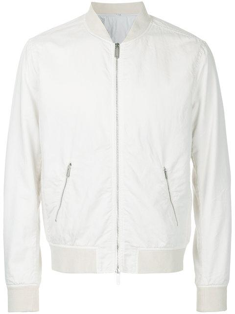 Hardy Amies Zipped Bomber Jacket
