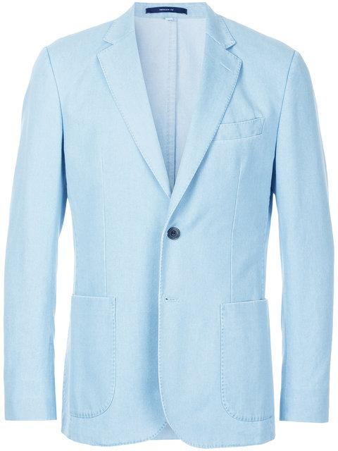Hardy Amies Classic Blazer - Blue