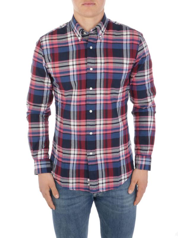 Aspesi Men's Cc03g06523302 Blue Cotton Shirt