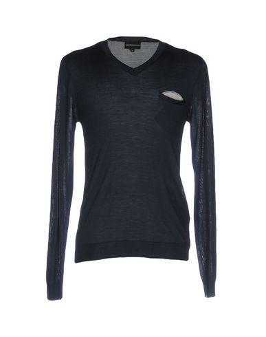 Emporio Armani Sweaters In Deep Jade
