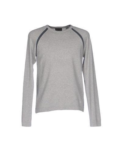 Emporio Armani Sweaters In Light Grey