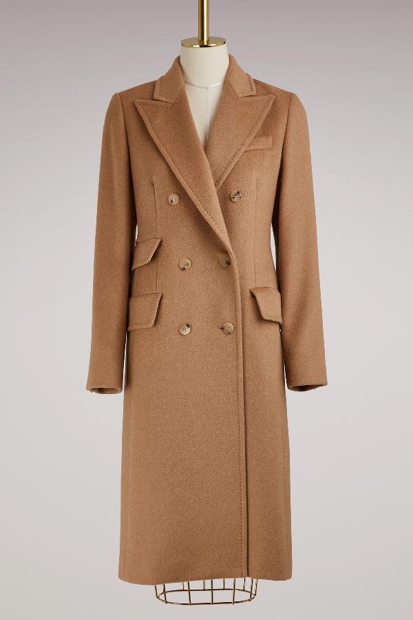 Max Mara Derris Camelhair Coat