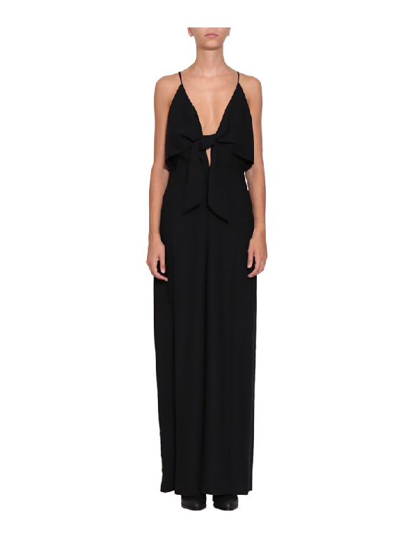 Alexander Wang T Cady Jumpsuit In Nero