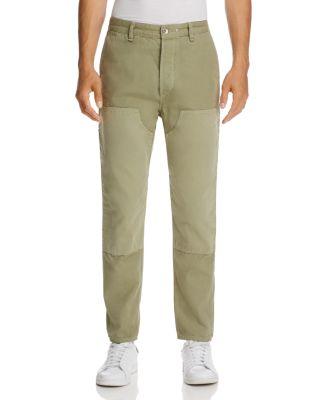 Rag & Bone Engineered Workwear Chino Pants In Green