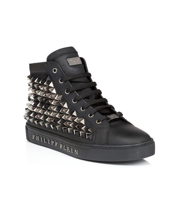 """Philipp Plein Hi-top Sneakers """"skull Navy"""""""