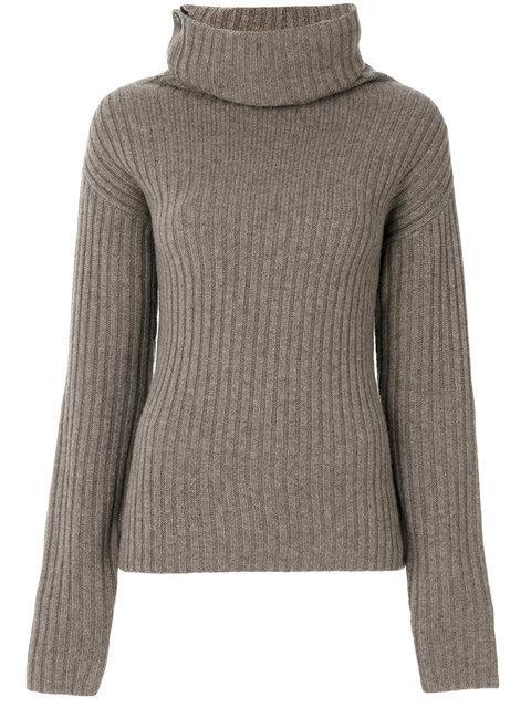 Joseph Roll-neck Ribbed Sweater