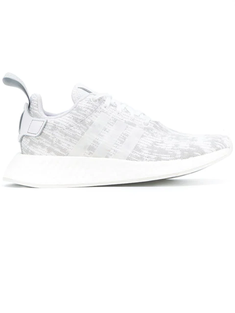 first rate d0981 11a25 Adidas Women's Nmd R2 Casual Sneakers From Finish Line in White