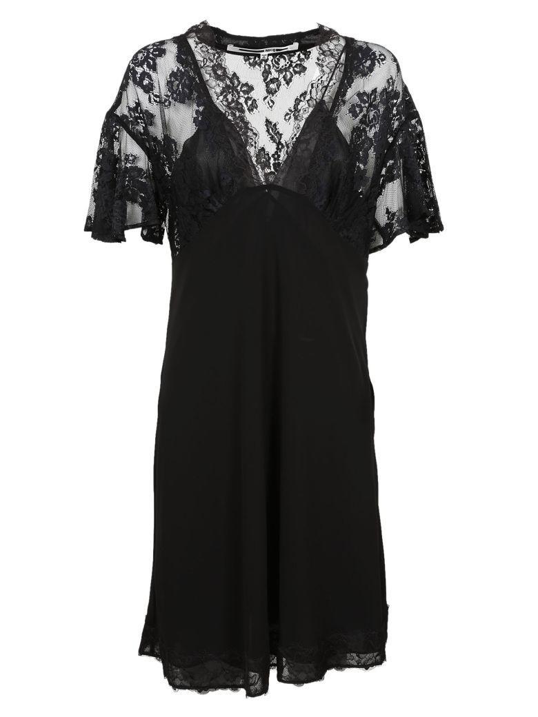 Mcq By Alexander Mcqueen Mcq Alexander Mcqueen Lace Panel Dress In Black