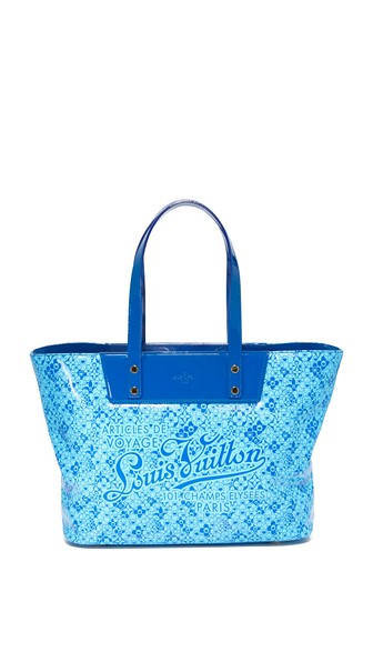 Louis Vuitton Cosmic Blossom Tote (previously Owned) In Blue Multi