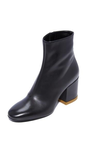 Kenzo Daria Heeled Booties In Black