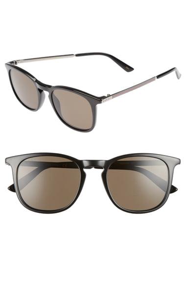 Gucci Optyl 51mm Sunglasses - Black