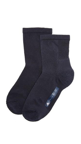 Adidas By Stella Mccartney Tennis Socks In Legend Blue/mystery Ink/white