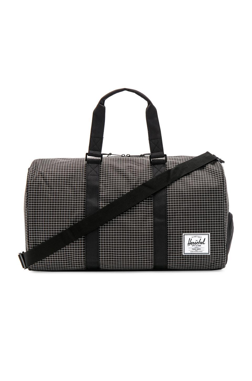 Herschel Supply Co. Novel Bag In Black. In Black Grid