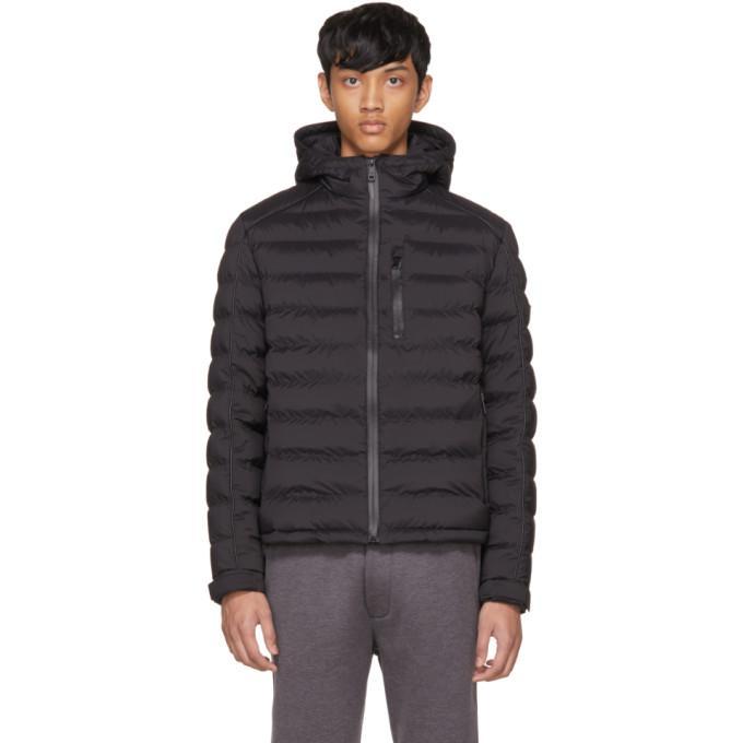 Prada Black Down High Neck Puffer Jacket