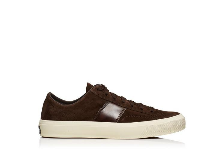 Tom Ford Cambridge Lace Up Sneaker In Brown