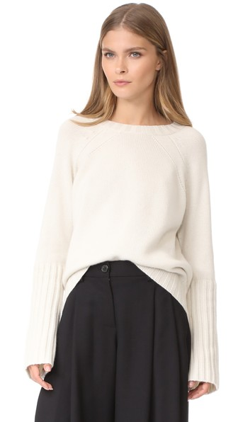 Nili Lotan Elsie Sweater In Ivory