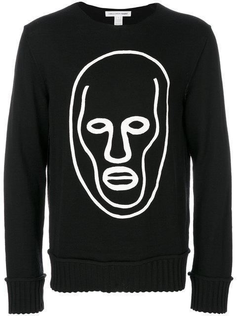 Comme Des GarÇons Shirt Sweater In Black