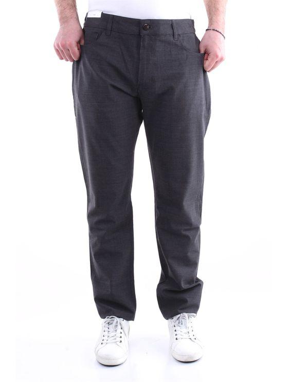 Pt Torino Trousers Regular Men Anthracite In Grey