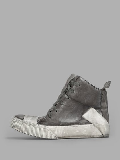 Boris Bidjan Saberi Sneakers In Grey