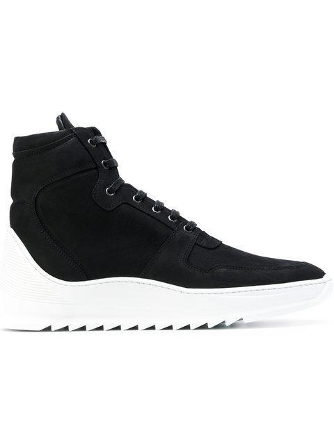 Filling Pieces Altitude Heel Cap Mid Sneakers