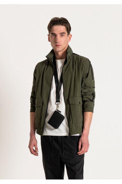 Antony Morato Multi Pocket Bomber Jacket Khaki Colour: Khaki, In Brown