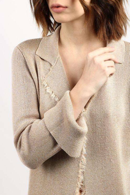 Jucca Jackets Sand In White