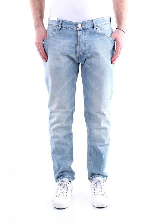Pt Torino Jeans Straight Men Light Jeans In Blue