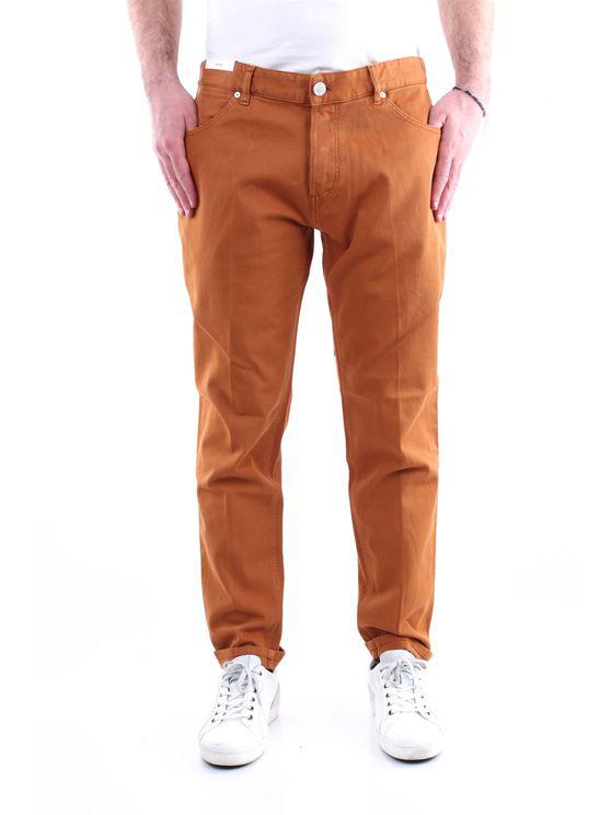 Pt Torino Jeans Straight Men Caramel In Brown