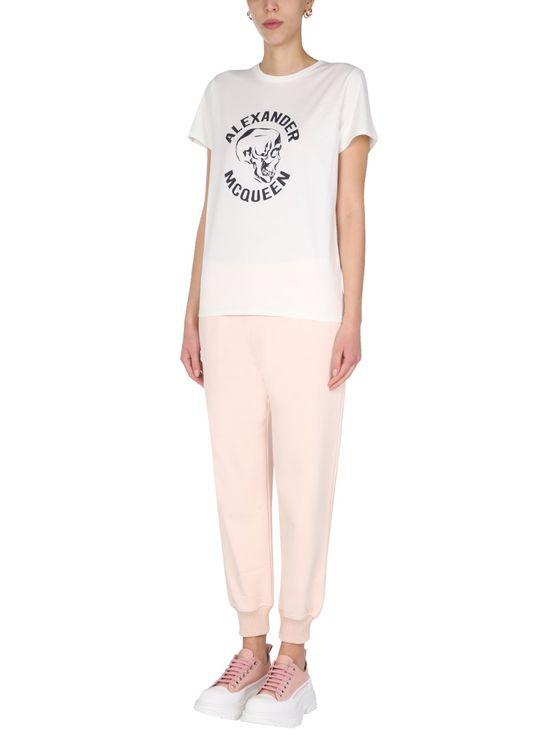 Mcq By Alexander Mcqueen Jogging Pants In Pink