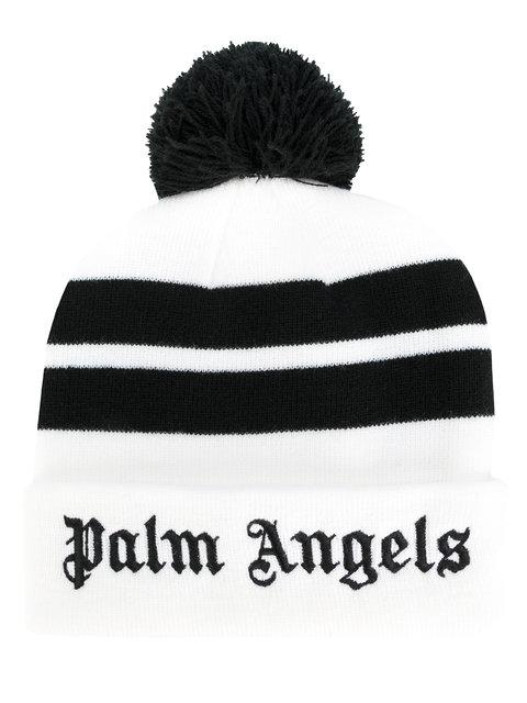 Palm Angels Pom Pom Beanie Hat In Multicolored