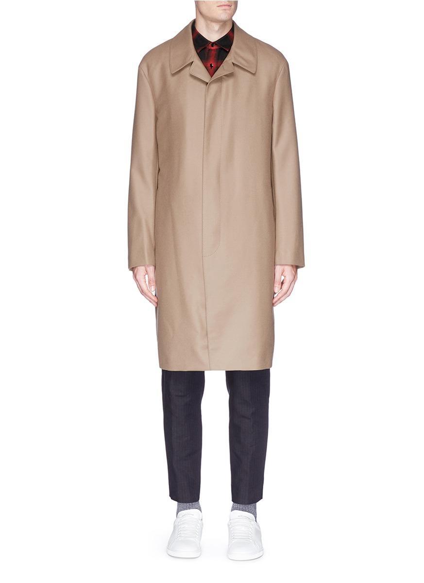 Lanvin Concealed Front Coat