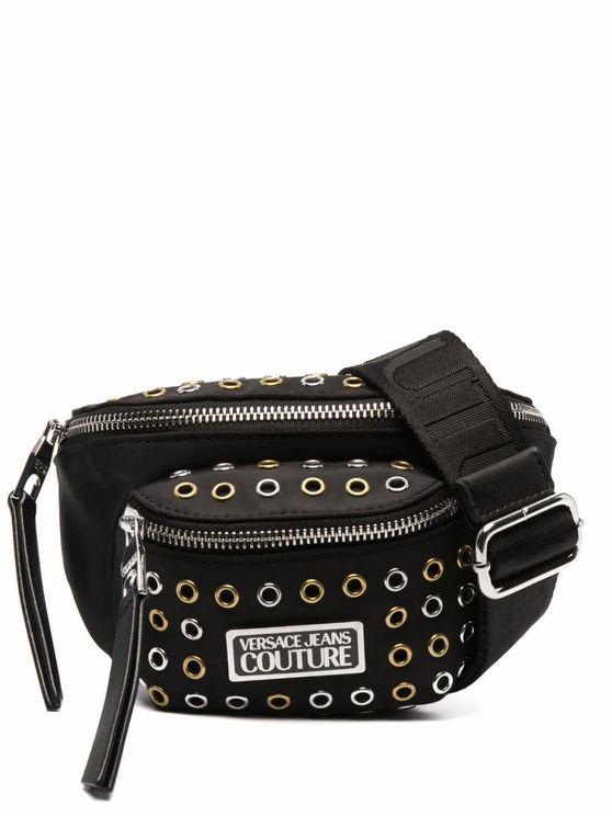Versace Jeans Couture Versace Jeans Women's E1vwabx571886899 Black Faux Leather Belt Bag