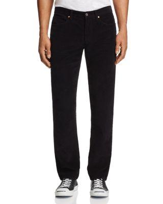 Joe's Jeans Corduroy Five-pocket Slim Fit Pants - 100% Exclusive In Black