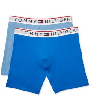 10dbcb12ca9 Tommy Hilfiger Men s 2-Pk. Modern Essentials Boxer Briefs In Ultra Blue