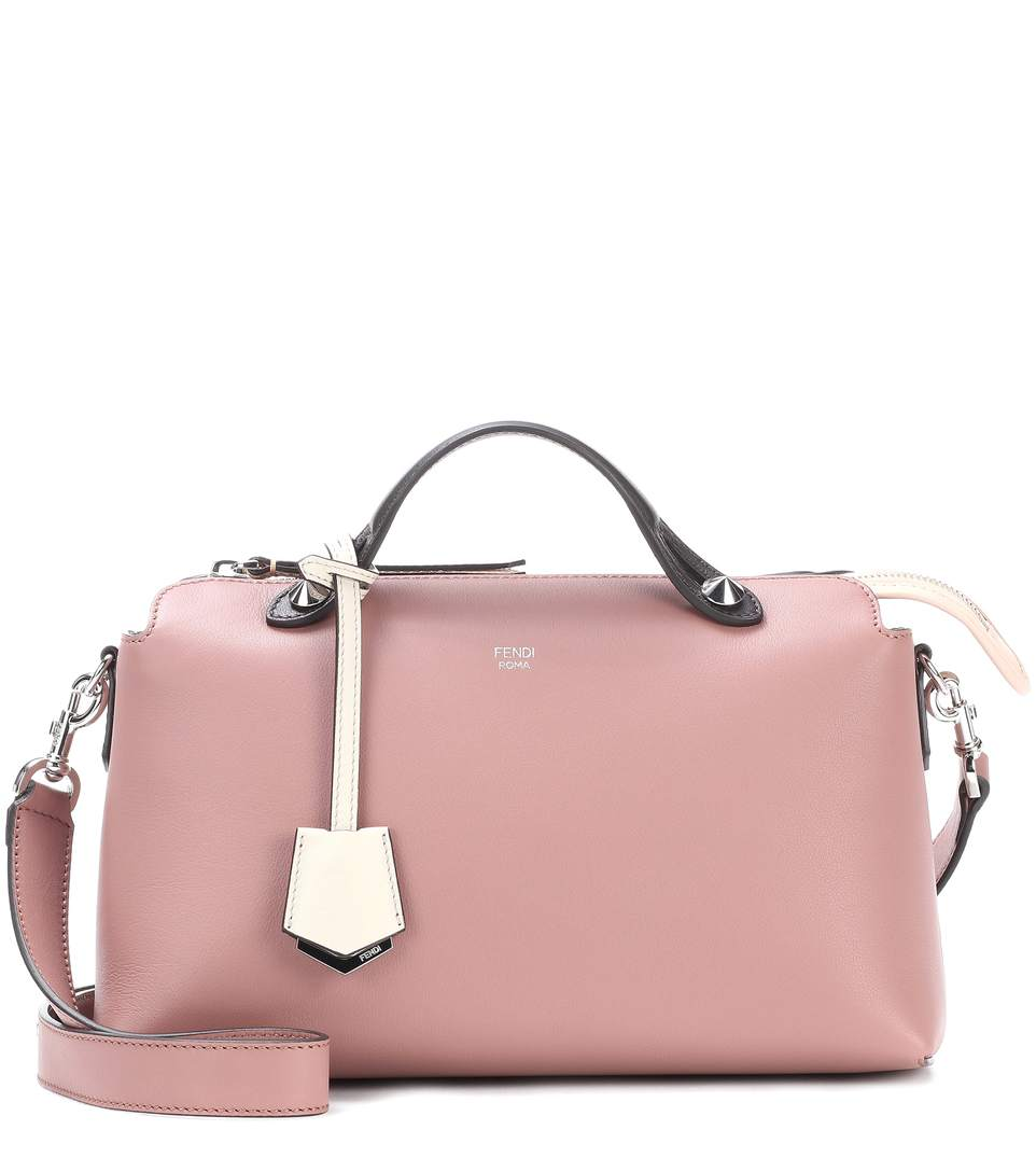2a4313d4d8c9 Fendi By The Way Small Leather Shoulder Bag In Rose